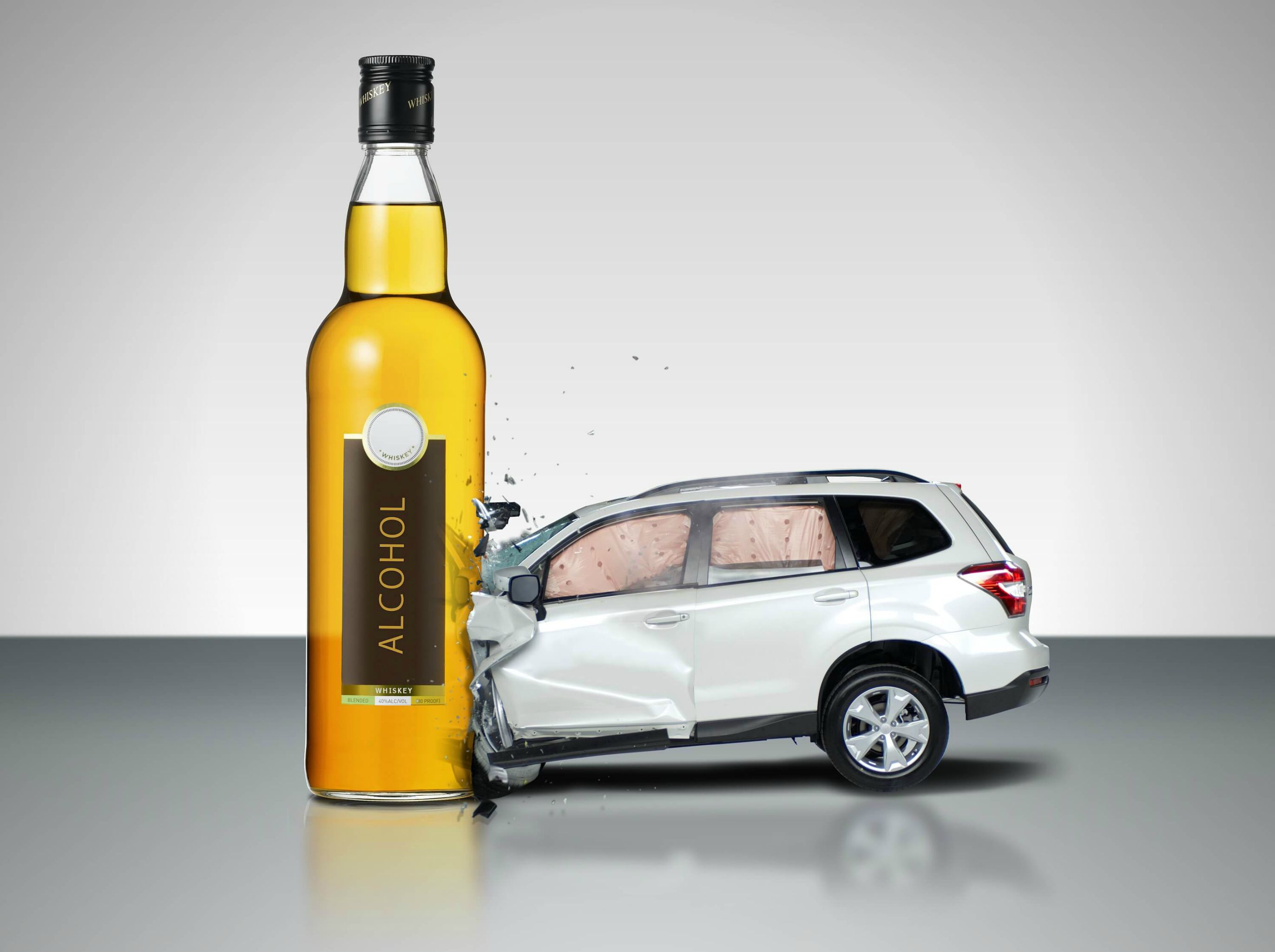 Alcohol Car Crash