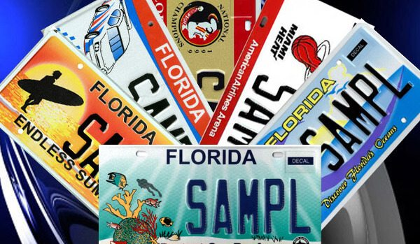 Florida Custom Plates >> Florida Specialty License Plates - Show Your Support!