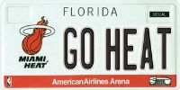 florida sports specialty plate