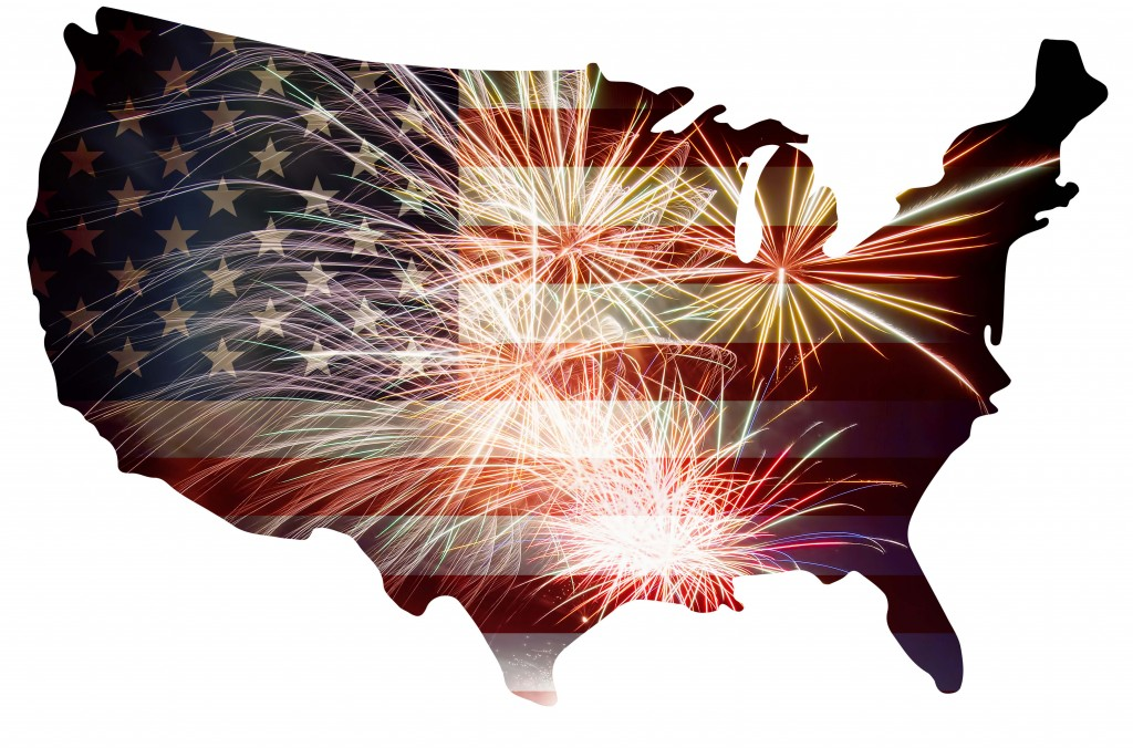 Fireworks Use Laws By State