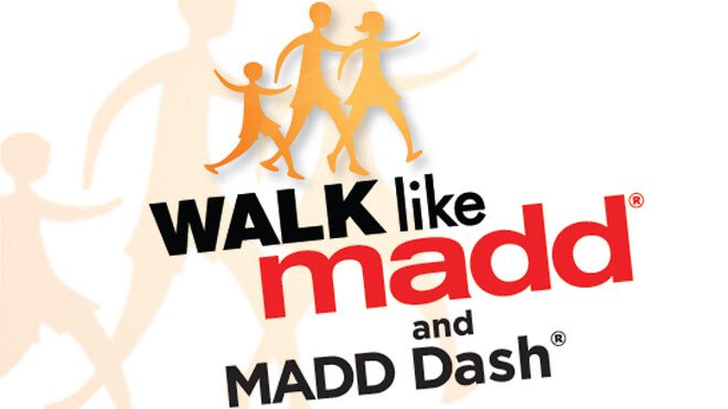 August Walk Like MADD Events