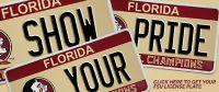 florida college license plate