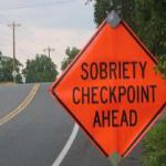 driver sober dui check point