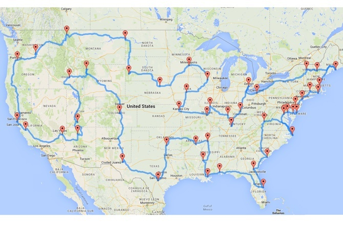 Best Road Trip Across the United States
