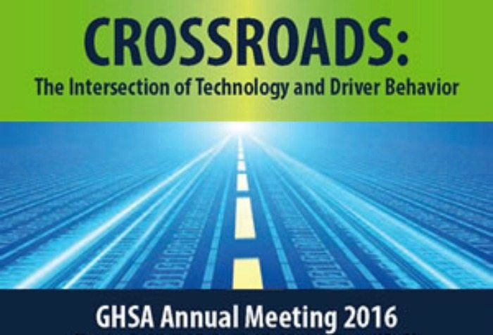 Join this year's GHSA's meeting to learn more about driver behavior and the ways to stay safe and sound and what to do if you see a distracted driver.
