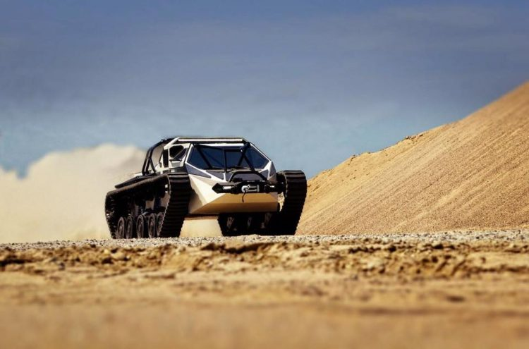 Luxury Super Tank Ripsaw EV2