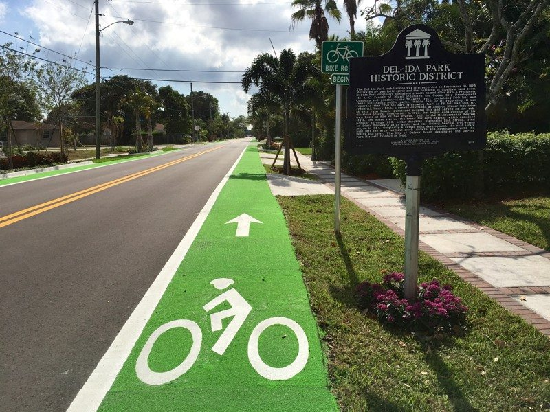 South Florida Bike Paths Receive National Safety Recognition