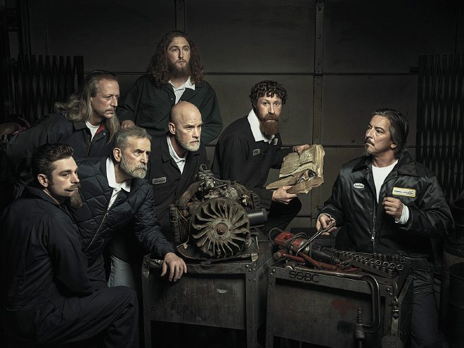 Auto Mechanics Recreate Renaissance Paintings