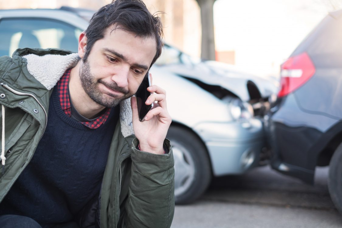 Call car insurance after a car accident