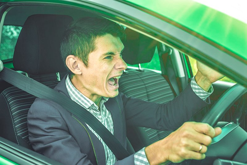 most irritating driving habits