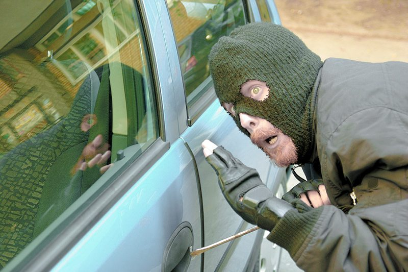 top california cities for vehicle theft