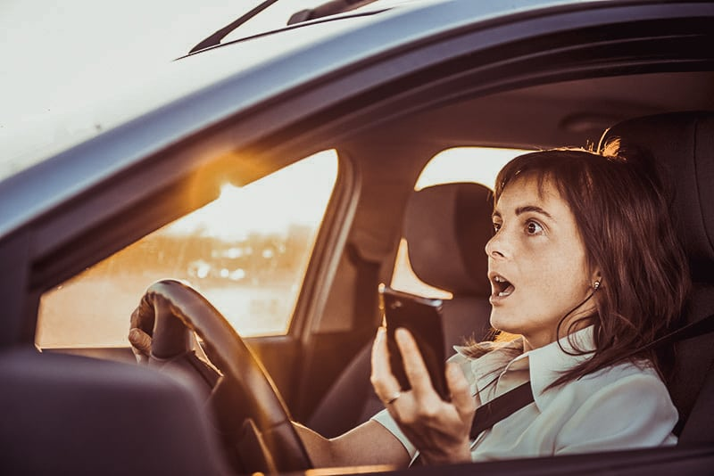 dangerous driving habits