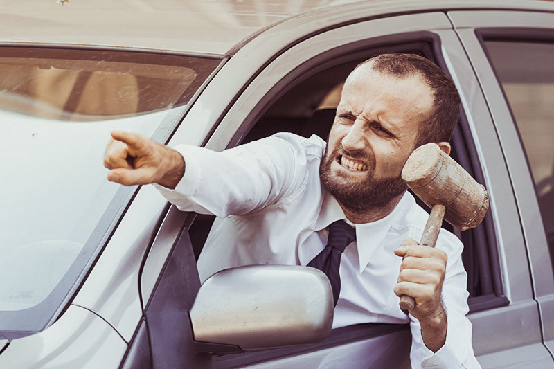 anger while driving
