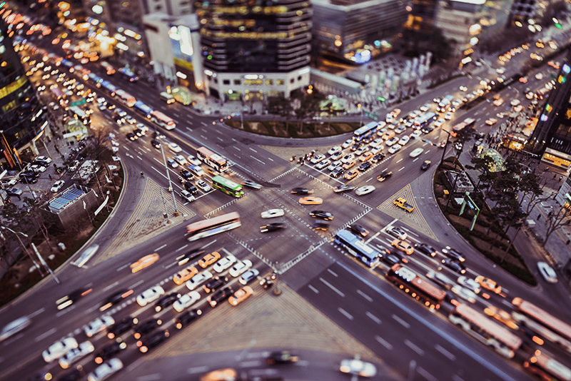 top ten cities with the worst traffic