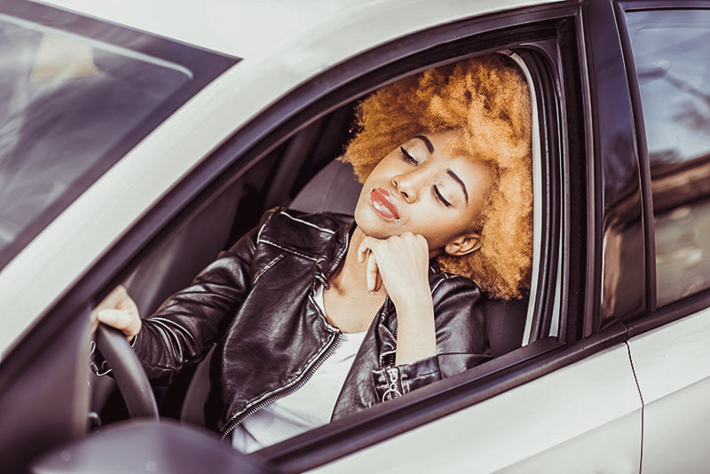 What causes drowsiness while driving