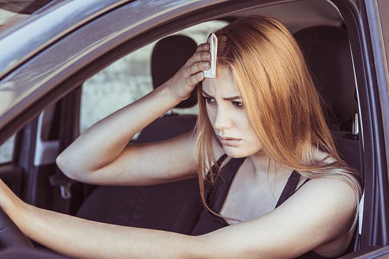 dangers of summer driving