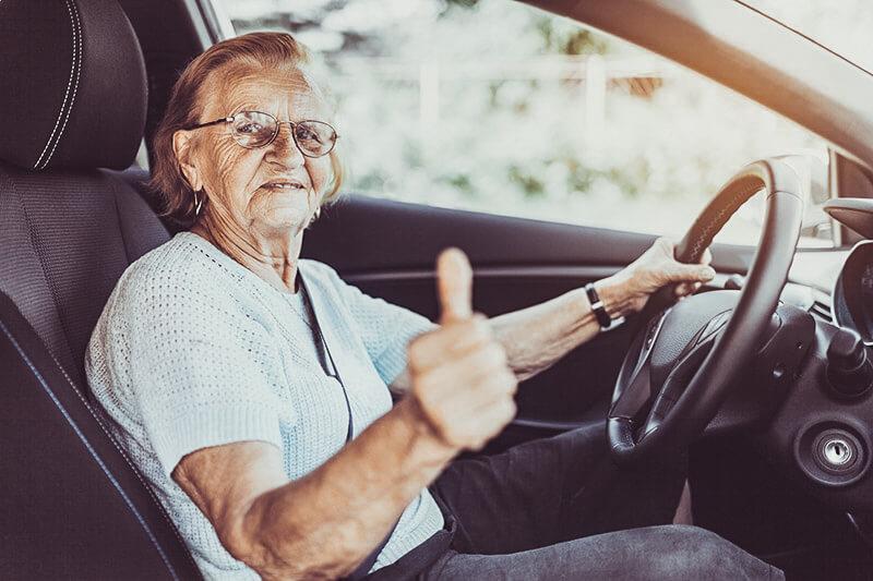 crashes involving senior drivers