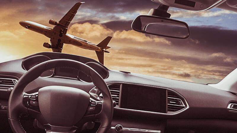 driving vs flying