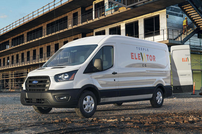 Fleet Ford Transit going electric