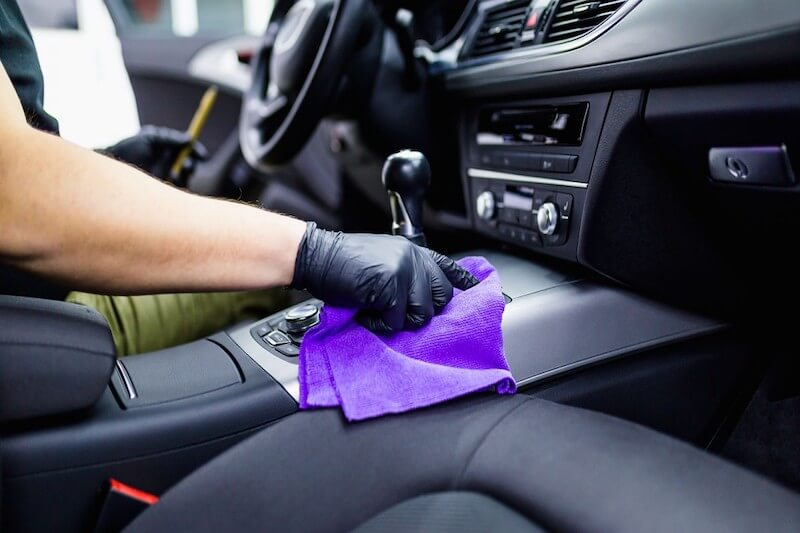 Car cleaning for covid-19
